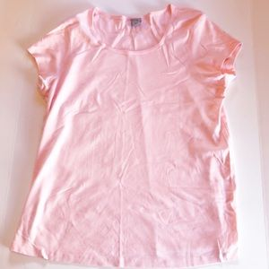 Old Navy Short Sleeve Maternity T-Shirt, Pink